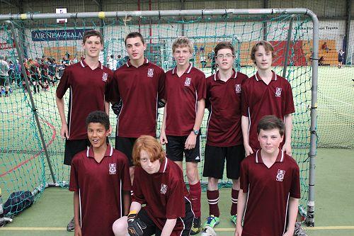 Futsal Term 4 Junior Boys 1 team - 5th Place