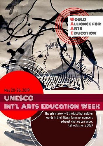 Its International Arts Education Week, so lets tak
