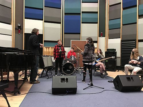 """Dr Maddy and Dr Mike setting up Kavanagh band """"Bri"""