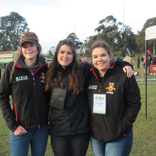 PIA students help out at Young Farmer Competition in Timaru