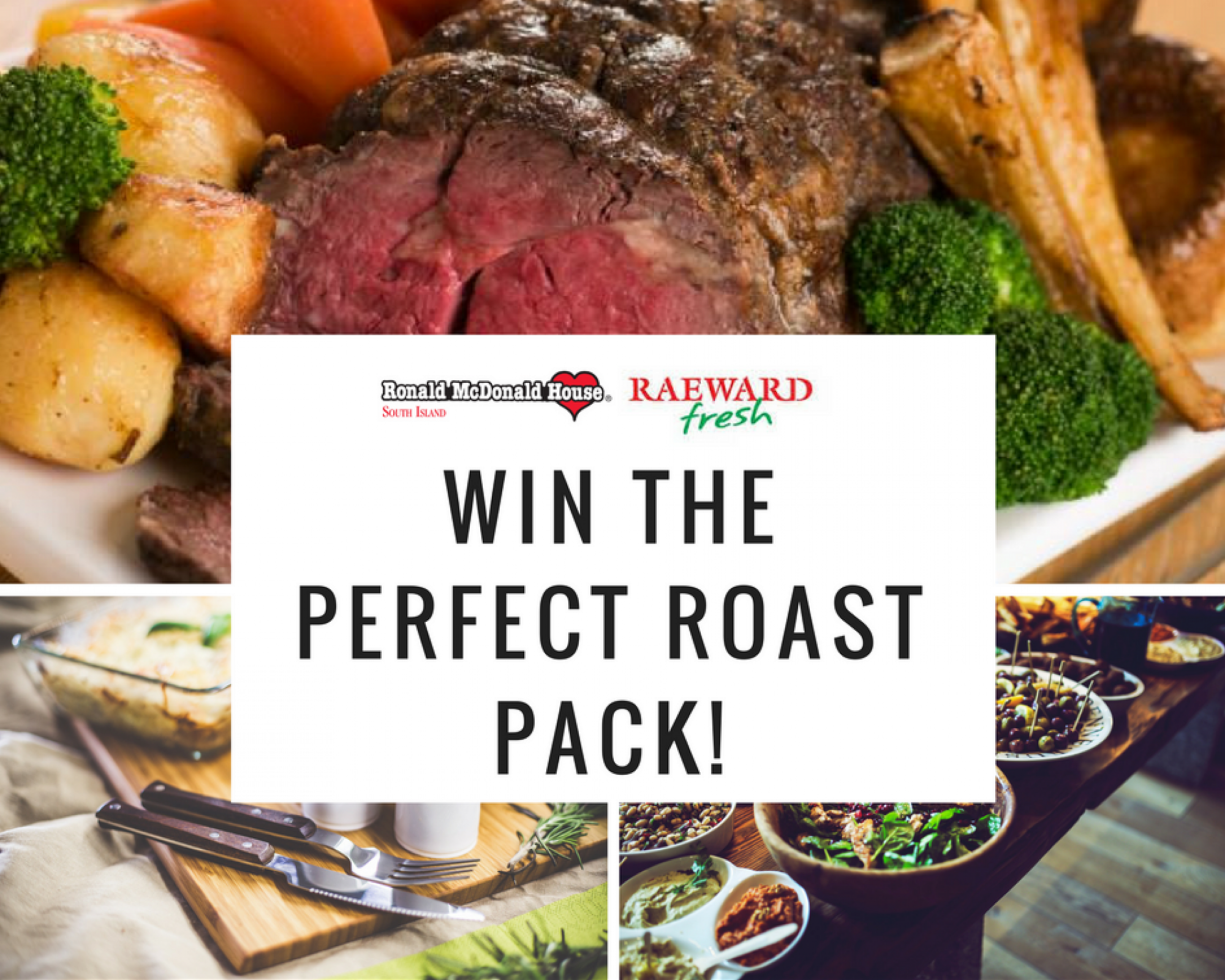 Win the perfect roast pack thanks to Raeward Fresh Tower Junction!