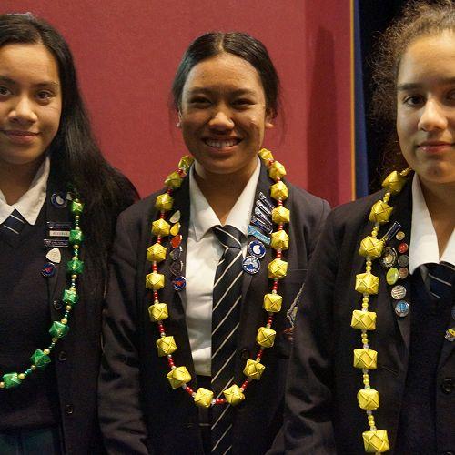 Moli Ahokovi, Tiare Makanesi and Maia Dean