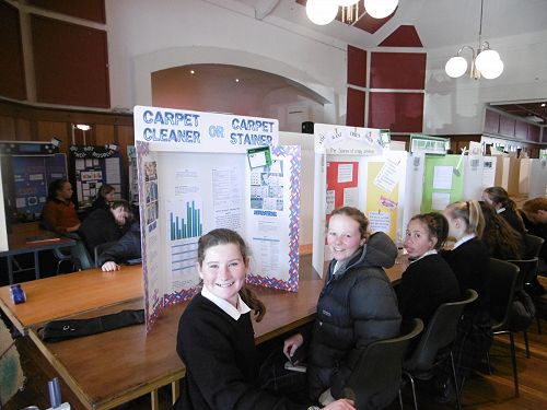 Anna Wilson and Nell Fisher (Year 8)