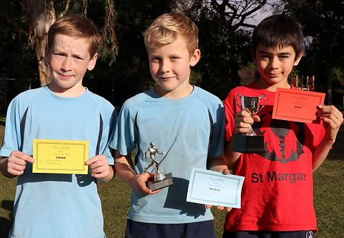 Junior Cross Country Boys Winners