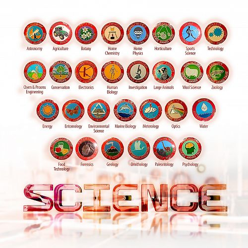 Science Badges