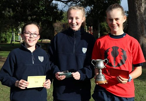 Senior Girls Cross Country Winners