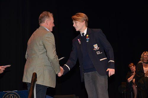 Harrison Croy - Stephen Guest Scholarship