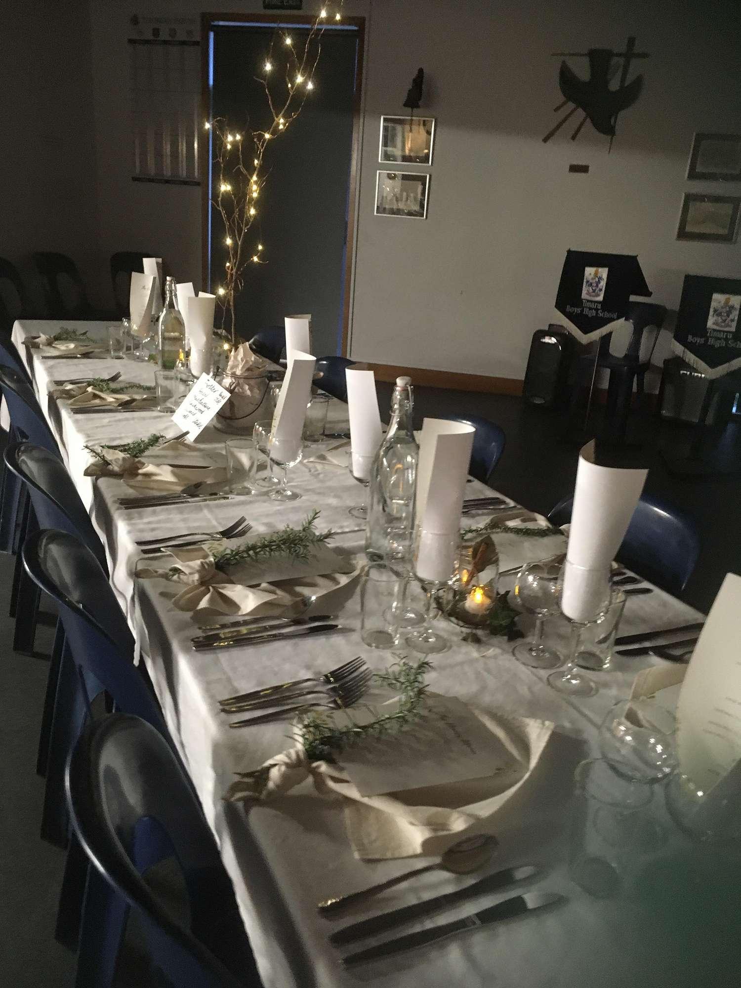 Restaurant Fundraising Dinner