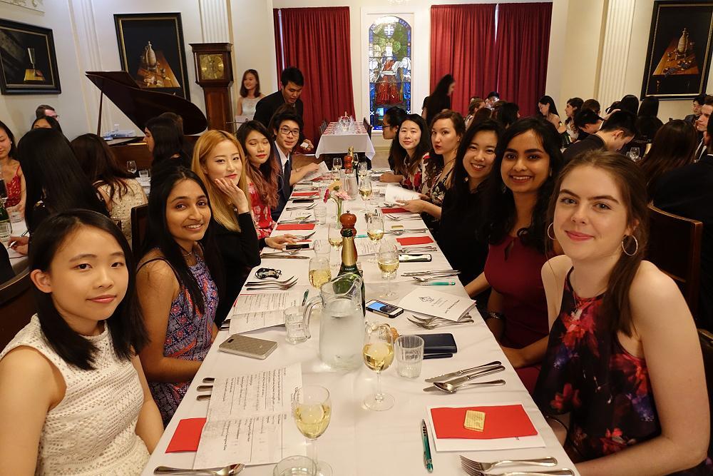 Valedictory Dinner - 8 October 2017
