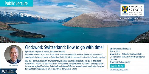 Clockwork Switzerland: How to Go with Time