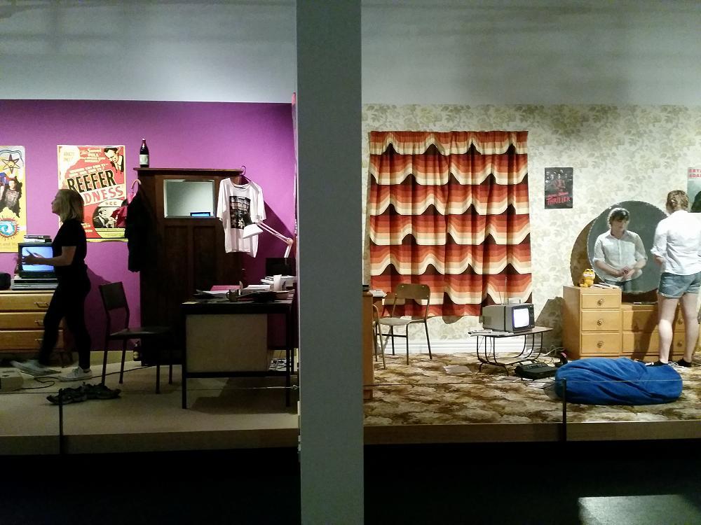 Level 3 Drama Devising at Toitu in the Dunedin Slice of Life Exhibition