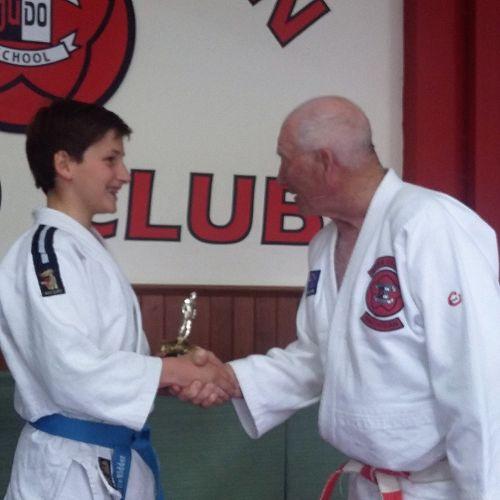 Maarten De Ridder, Gold medalist at NZSS Judo Championships