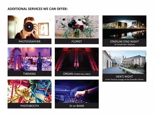 Additional services we can offer when you plan you