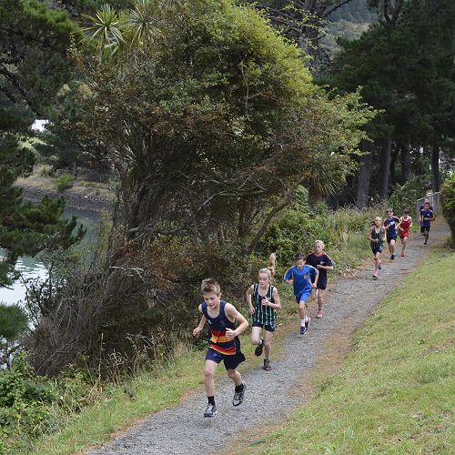 Intermediate Triathlon, Port Chalmers