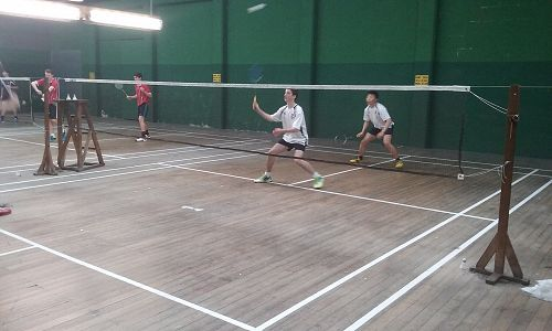 Waitaki Boys' High School Interschool - Badminton