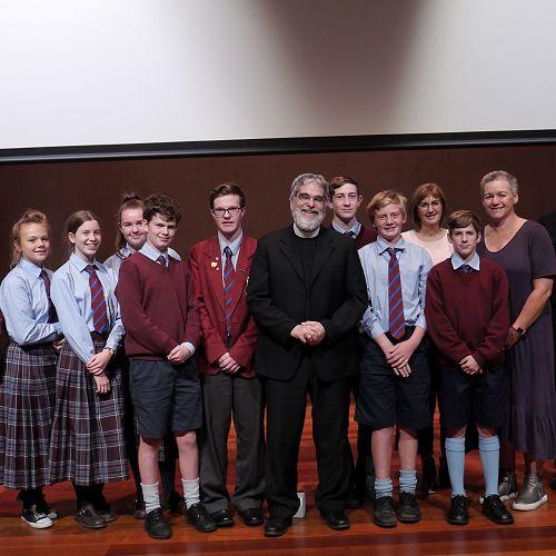 Students meet Papal astronomer