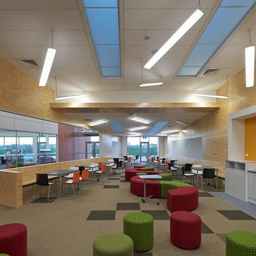 An innovative learning environment creates enormous flexibility but what happens when you have no walls at all?
