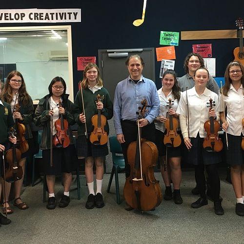 Cellist Visit