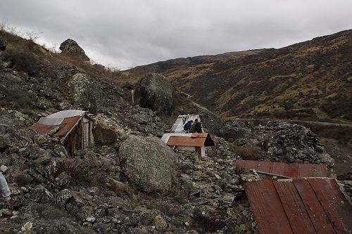 Chinese Settlement at the Kawerau Mining Centre