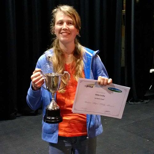 Abby Lusby | Taratahi Top Overall Student