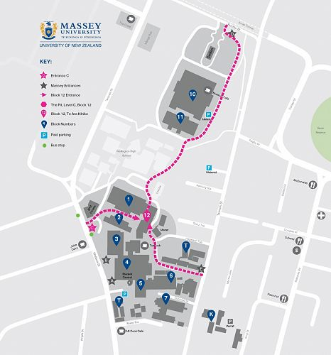 Massey Campus Map