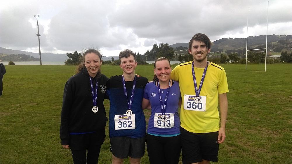 After the half marathon - 10 September 2017