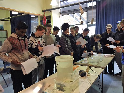 Year 12 Biology visit to the Marine Science Labora