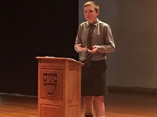 Junior Public Speaking Competition