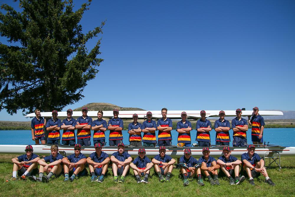 John McGlashan College Rowing Squad 2016