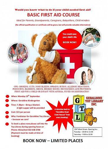 First Aid Fundraiser