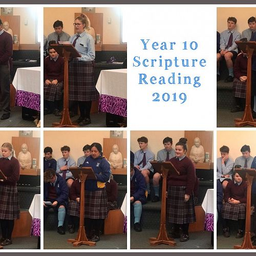 A collage of the year 10 readers
