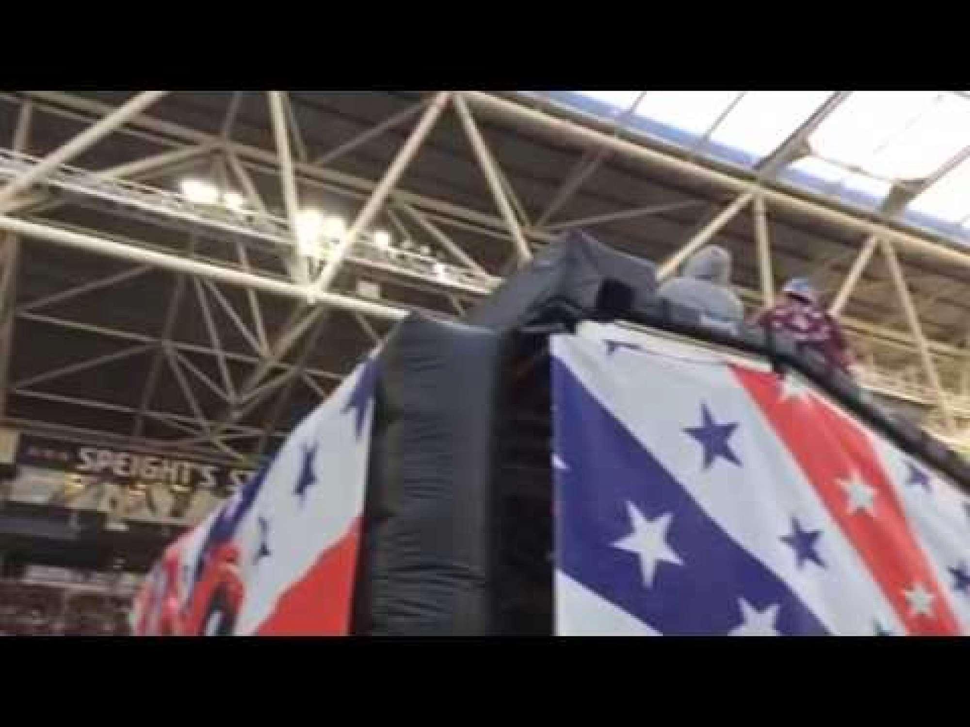 Nitro Circus 2015 at Forsyth Barr Stadium