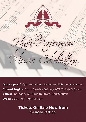 High-Performers Music Celebration