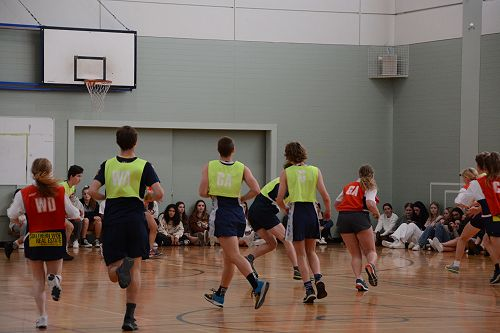 OBHS v St Hilda's Prefect Netball