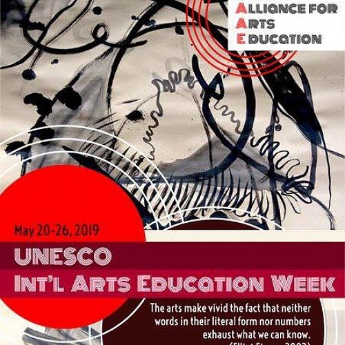 It's International Arts Education Week, so let's take some time this week to celebrate what we love about arts education