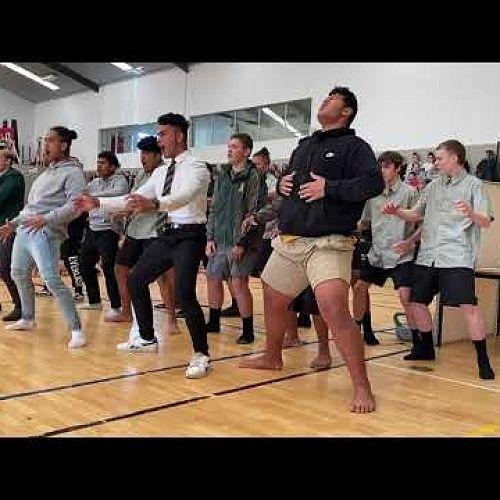 Video: Haka for Quinton