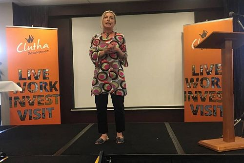 Ruth Ratcliffe Clutha's Youth Manager gives a passionate performance
