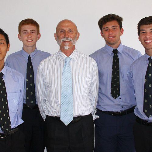 John Laurenson with Senior Executives