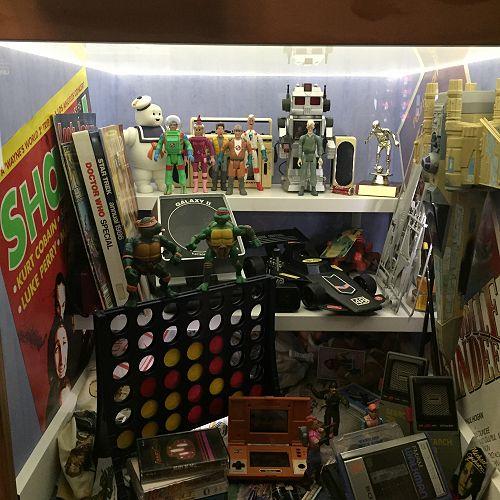 80s toys at Te Papa