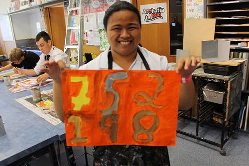 Art based programme - Learning Support students