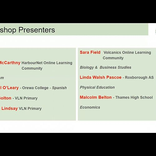 Video: Workshop Two: Adapting Contexts Online