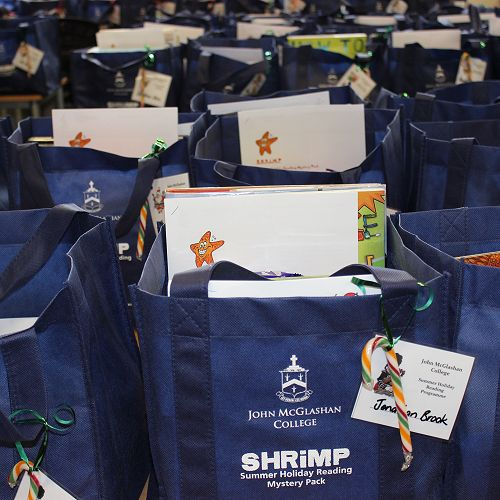 A Sea of SHRIMP packs
