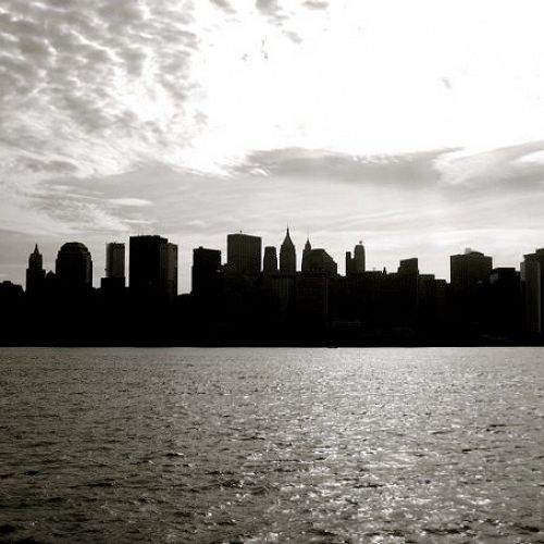 New York City Manhattan skyline, post 9/11