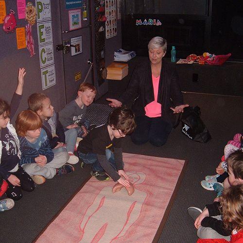 Inside the Life Education classroom.