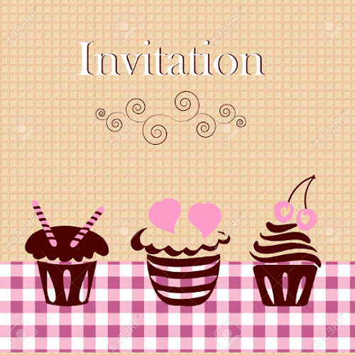 Invitation for Coffee & Cake