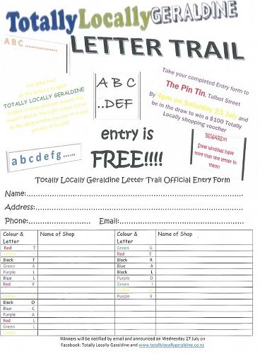 Letter Trail