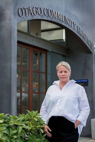 Ginny Green, CEO Otago Community Hospice