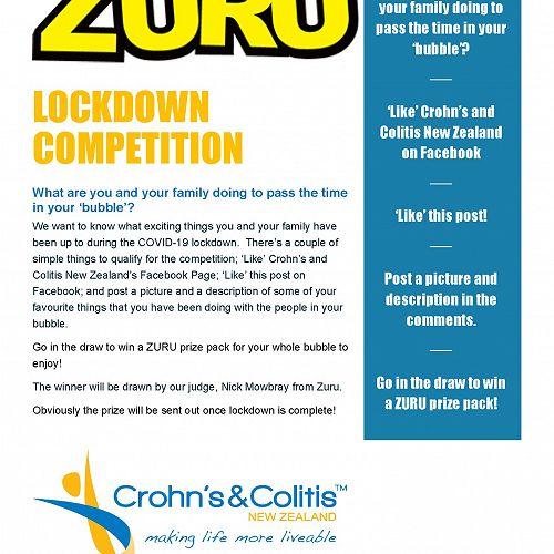 Zuru Competition during lockdown