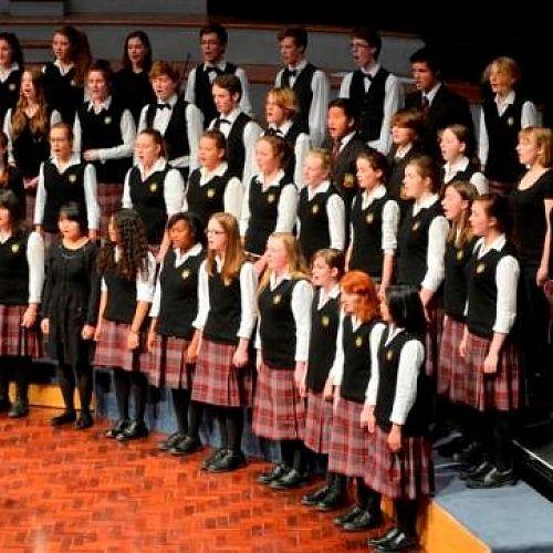 Logan Park High School Choir at the Big Sing