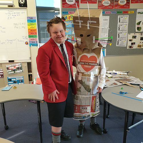 Challenge afternoon in Learning Support - The Emperor's New Clothes